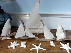 Silver Pennies: My Pass it On Gifts - Driftwood Sailboats