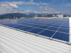 Struttura per posa dei pannelli fotovoltaici senza forare il tetto