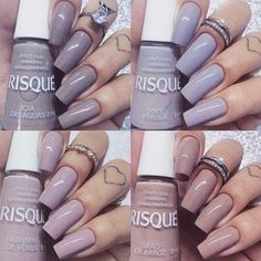 Opting for bright colours or intricate nail art isn't a must anymore. This year, nude nail designs are becoming a trend. Here are some nude nail designs. Nude Nails, Gel Nails, Nail Polish, Heart Nail Designs, Nail Art Designs, Perfect Nails, Gorgeous Nails, Stylish Nails, Trendy Nails