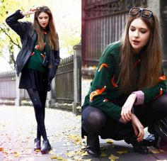 Fall / Green / Black