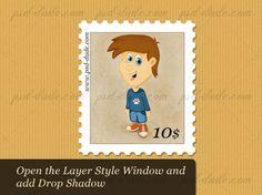 Stamp Photoshop Tutorial - Photoshop tutorial | PSDDude