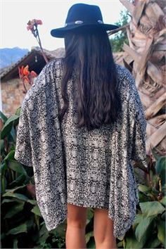 Boho sneak print kimono - ΡΟΥΧΑ -> Jackets & kimono | Made of Grace