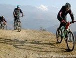 Enjoy cycling in mountains