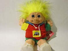 """RUSS TROLL KIDZ  Buster  is name on this one.  This collectible is 12"""" and does have tag!"""