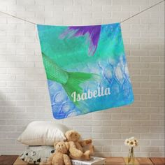 Baby easter bunny with red rose baby bodysuit baby gifts mermaid tails scales babys name stroller blanket negle Images