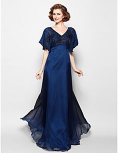 Mother of the Bride Dress Floor-length Chiffon A-line Dress. Get unbeatable discounts up to 70% Off at Light in the box using Mother's Day Promo Codes.