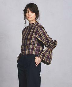 【ZOZOTOWN|送料無料】UNITED ARROWS(ユナイテッドアローズ)のシャツ/ブラウス「<ELIN(エリン)> ベルスリーブ チェック ブラウス」(15785994733)を購入できます。