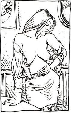 """Moebius - From french comics magazine """"L'écho des Savanes"""" # 12, Second quarter 1975 - Les Editions du Fromage, Paris"""