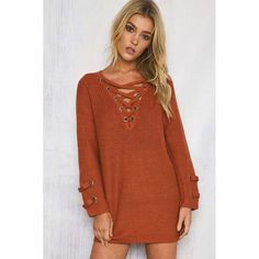 V Neck Knitted Bandage Cross Pullover    https://zenyogahub.com/collections/casual-tops/products/v-neck-knitted-bandage-cross-pullover