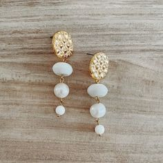 Kimber Pearl Earrings (1)sm Pearl Earrings, Pearls, Jewelry, Pearl Studs, Jewlery, Jewerly, Beads, Schmuck, Jewels