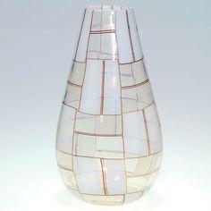 "Lot:Barovier & Toso attrib Italian vase, 1950's modern, 10"", Lot Number:396, Starting Bid:$750, Auctioneer:Humler & Nolan, Auction:Barovier & Toso attrib Italian vase, 1950's modern, 10"", Date:05:00 AM PT - Dec 4th, 2010"