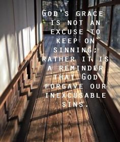 God forgave our inexcusable sins   https://www.facebook.com/photo.php?fbid=234589266699869