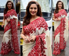 Madhuri Dixit In Manish Malhotra On 'So You Think You Can Dance' Sets-2