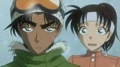 Heiji Hattori & Kazuha Toyama (Detective Conan)