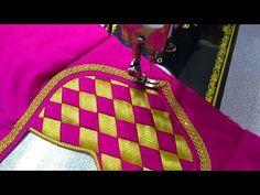 Blouse design new - Small Magazine Latest Blouse Neck Designs, Chudi Neck Designs, Saree Blouse Neck Designs, Simple Blouse Designs, Kurta Neck Design, Blouse Simple, Sari Blouse, Back Dress Design, New Model Dress
