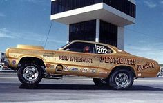 Vintage Drag Racing - Pro Stock - Red Whisnant