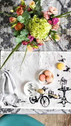 Painted table mat