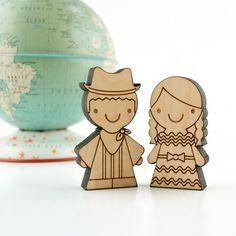 Wood Dolls Children of the World Collection-Honduras. $24.00, via Etsy.
