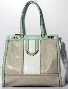 Guess Alfie Large Tote Bag, Mint Multi