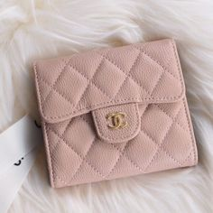 Chanel Classic Small Flap Wallet Style code: Size: x x inches Chanel Wallet Small, Small Wallet, Unique Selling Proposition, Dream Life, Continental Wallet, Boudoir, Wallets, Goals, Purses