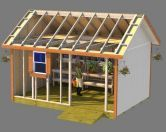 Shed plans for gable style roof sheds