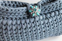 Elegant Handbag  Crochet Clutch Purse   Clutches evening bag
