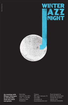 Winter Jazz Night - Poster