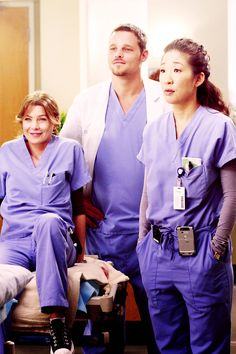Grey, Karev and Yang. Three left standing. missed so much this year I didn't catch up.