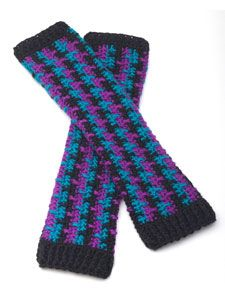 Candy-Coated Arm Warmers (free crochet pattern) also for steampunk Crochet Boots, Crochet Gloves, Crochet Slippers, Knit Or Crochet, Crochet Crafts, Free Crochet, Crochet Classes, Crochet Supplies, Crochet Arm Warmers
