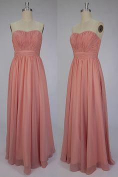 Strapless Ruched Chiffon Celebrity Dress