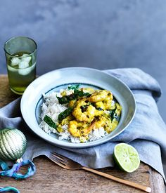 Emma Knowles recipe for fast Kerala prawn curry.