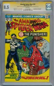 Marvel Milestone Edition Amazing Spiderman Signed autograph by Gerry Conway Black Cat Marvel, Amazing Spiderman, Punisher, Marvel Comics, Comic Books, Hero, Ebay, Comic Con, The Punisher