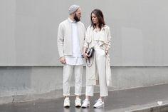 J'aime tout chez toi - White on white layering - French fashion couple