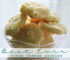 Best Ever Cream Cheese Cookies I thought to share one of my simplest and most favorite recipes today: Best Ever Cream Cheese Cookies. I love the way this dough mixes up in just a few minutes and is so versatile; you can drop these cookies, roll them into balls or even roll the dough for...Read More »