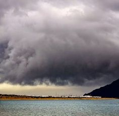 Stormy skies over La Graciosa Island