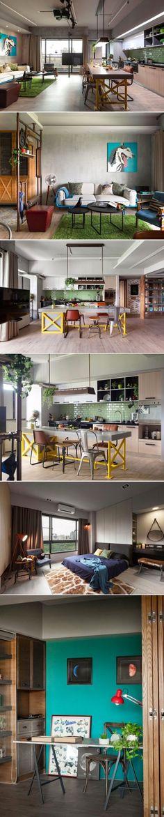 Diseño urbano con esencia vintage / http://www.homedsgn.com
