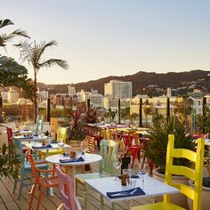 Unser Rooftop-Restaurant in Los Angeles| Mama Shelter