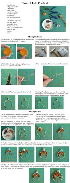 Simple Wire Wrap Tree Tutorial by magpie-poet.deviantart.com on @deviantART this one looks even easier!