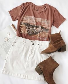 Easter outfits for teens - shop online Cute Summer Outfits, Outfits For Teens, Spring Outfits, Trendy Outfits, White Girl Outfits, Holiday Outfits, Mode Outfits, Fashion Outfits, Fashion 2018