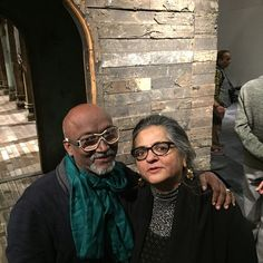 #Dayanita Singh ( second edition of Kochi-Muziris Biennale artist and artist Patron of Kochi Bienna Foundation)and i was at the preview of Sudarshan Shetty's ( Curator of the Kochi-Muziris Biennale 2016 and his biennale will open on 12/12/2016) exhibition 'Soonya Ghar' ( Empty Home) at the National Gallery of Modern Art #Delhi. Must take some extra time to see the incredible video work too... by bosekrish