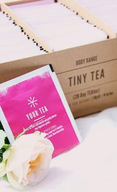 Cute Gift Idea - Tiny Tea by @yourtea is amazing for healthy weight loss, bloating, digestion, skin, mood and more!