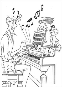 20 FREE Printable Musical Instruments Coloring Pages