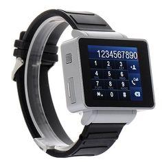 I-Wacht Reloj Telefono Movil. Te presentamos lo último en Micro Tecnología Móvil, el I-Watch I5. Se trata de un teléfono móvil y reloj en un solo Gadget.