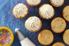 My current favorite buttercream - Whipped Vanilla Buttercream by annieseats, via Flickr