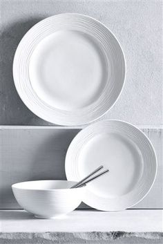 Buy 12 Piece Casual Dinner Set from the Next UK online shop