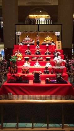 雛飾り 京都ホテルオークラ