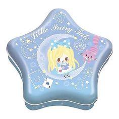 Little Fairy Tale Memo Star Tin Alice in Wonderland (◕ᴥ◕) Kawaii Panda - Making Life Cuter