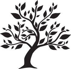 Génial Coût -Gratuit pochoir arbre Concepts, # stromnálepky -strom Step-by-step Sh… Tree Stencil, Stencil Painting, Stencils, Tree Of Life Art, Tree Art, Wall Painting Decor, Tree Templates, Tree Graphic, Art N Craft