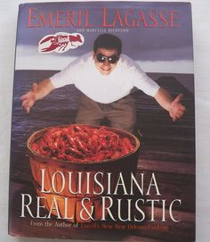 $3.75 Emeril Lagasse Louisiana Real & Rustic 1996 HC 1st ed. (52916-56) cookbooks