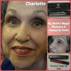 Younique Fiber Lash Mascara is great for moms and grandmoms! We lose lashes as we age and our magic mascara helps ladies look younger! Check out my mom! www.magicmascaraandmore.rocks